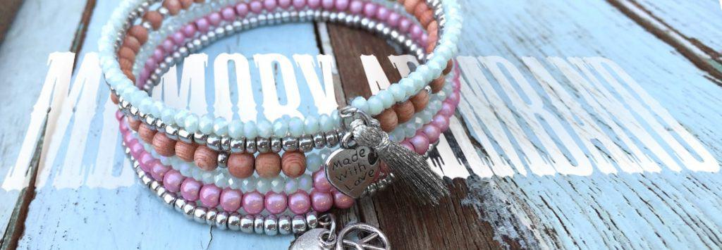 Memory Wire Spiral-Armband Anleitung von kronjuwelen.com