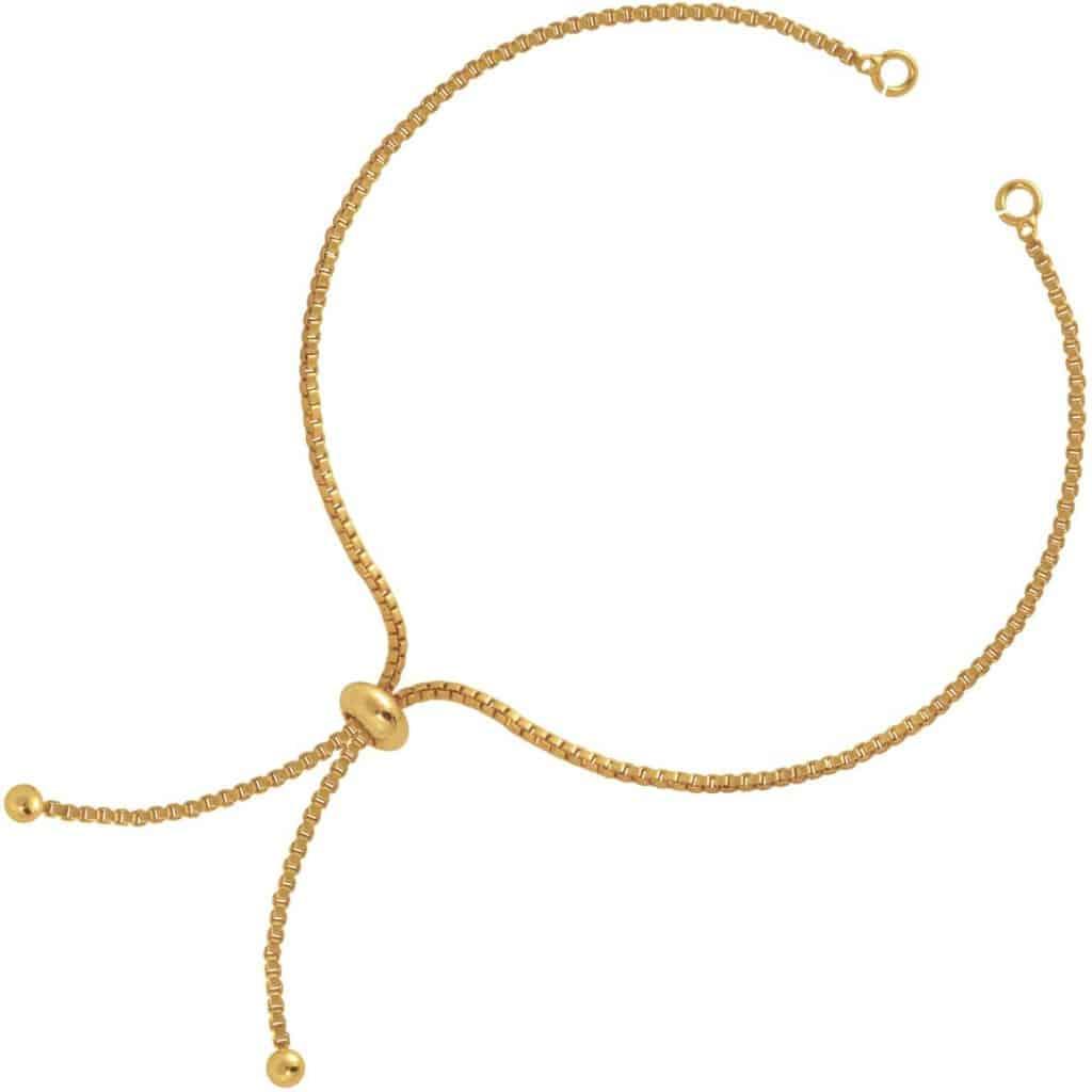 Armband mit Schiebeverschluss von kronjuwelen.com
